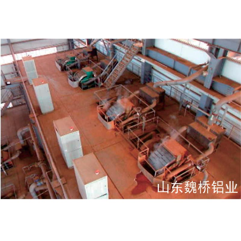 高梯度磁选机在邹平魏桥再生资源利用有限公司使用