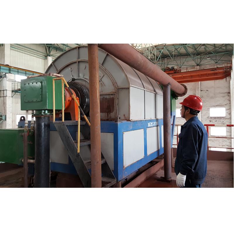 永磁高梯度中磁机在太钢岚县矿业有限公司使用