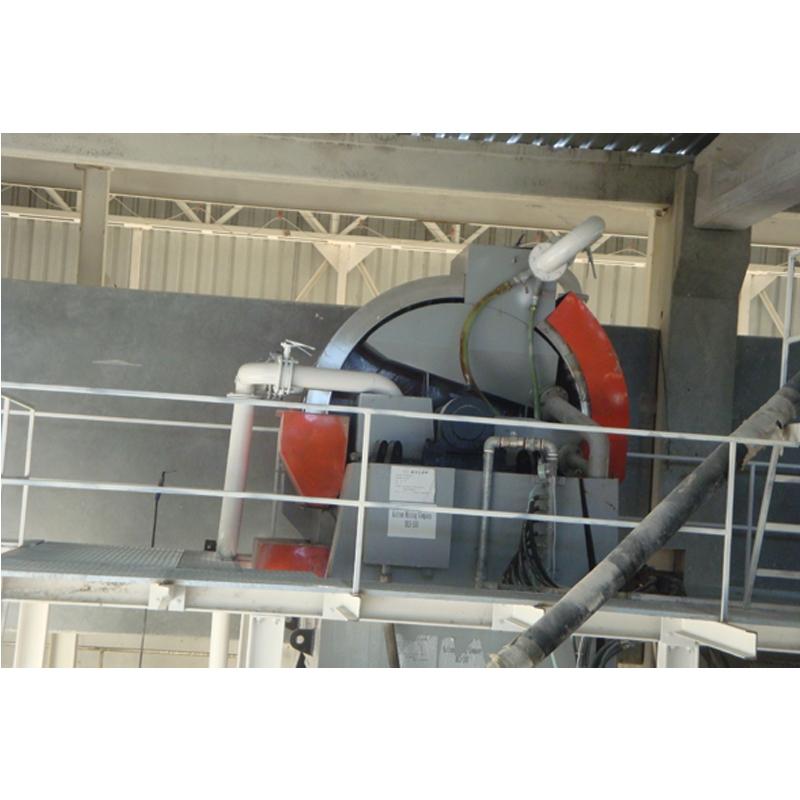 高梯度磁选机在山东济钢信发再生资源有限公司的使用